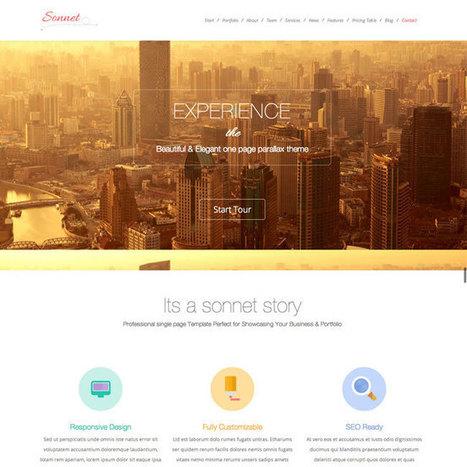 Sonnet WordPress Theme | WordPress Theme Download | Best WordPress Themes 2013 | Scoop.it