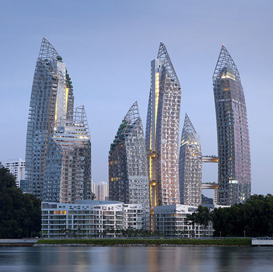 Reflections at Keppel Bay | Asia: Modern architecture | Scoop.it
