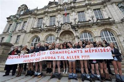 Commerçants à Limoges. Courir nu pour travailler le dimanche23 - Faits de société - ouest-france.fr | ECONOMIES LOCALES VIVANTES | Scoop.it