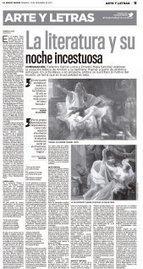 La literatura y su noche incestuosa - El Nuevo Diario | literatura variada en español | Scoop.it
