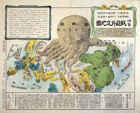 521 - Cartography's Favourite Map Monster: the Land Octopus ... | Cartography | Scoop.it