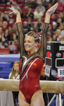 No. 6 Gym Dogs Fall At No. 3 Florida | Newspaper Stories About Gator Gymnastics (Most Recent First) | Scoop.it