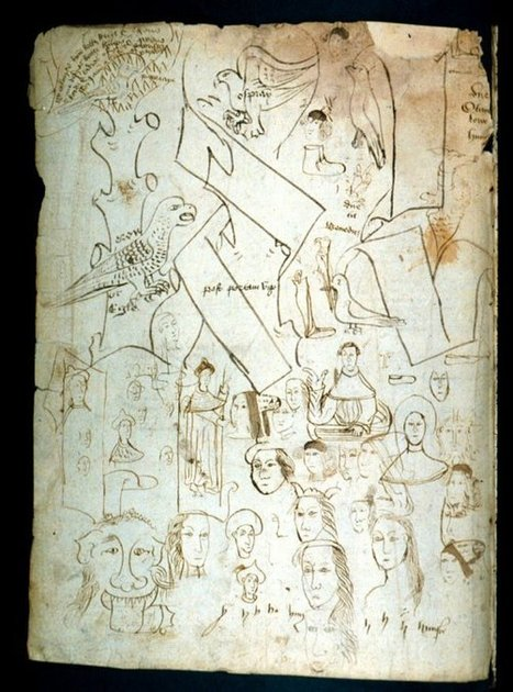 Medieval books containing fascinating doodles & cartoons | Library Stuff | Scoop.it