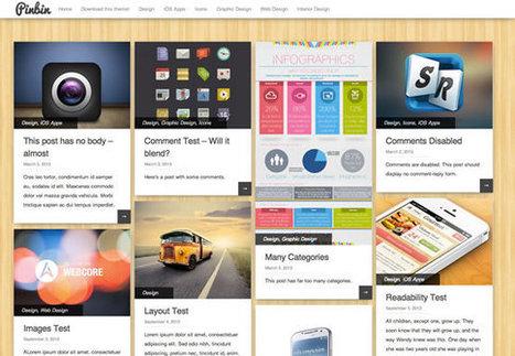PinBin: template para WordPress estilo Pinterest   all is design   Scoop.it
