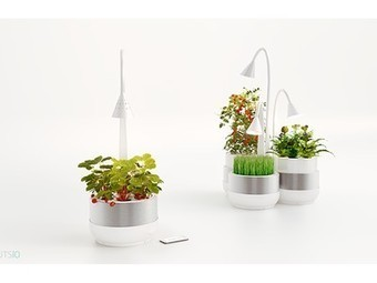 Smartphone-controlled microfarming system can grow veggies in tiny spaces | Eco-Food Innovation | Scoop.it
