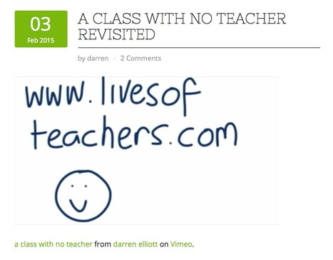 A class with no teacher: Darren Elliott | TELT | Scoop.it