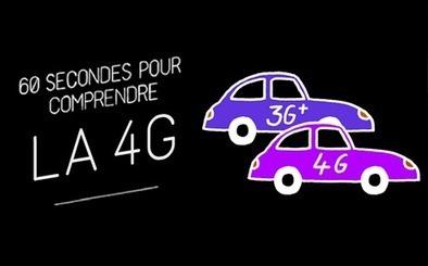 60 secondes pour comprendre la 4G Le nouveau réseau mobile est tout à vous... | 4G | Scoop.it