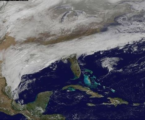 Winter storm battering southeast seen from space - Fox News | Reading & Writing | Scoop.it