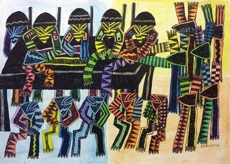 Artworks By Contemporary African Artists in London | Artcentron | Art | Scoop.it