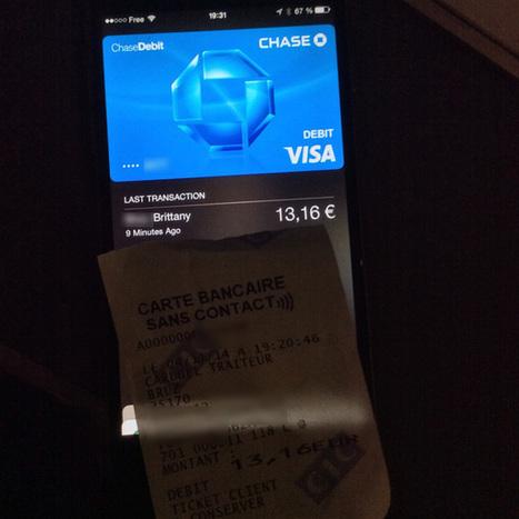 Apple Pay fonctionne déjà chez les commerçants français ! | NFC | Scoop.it