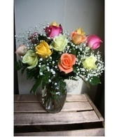 Gidas Flowers - Mixed Color Short Stem Roses   Online Shopping   Scoop.it