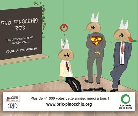 Les Amis de la Terre : Les prix pinocchio du développement durable   Développement durable et écologie   Scoop.it