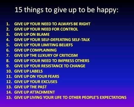GREAT TIPS TO BE HAPPY! | My Google+ Journal | Scoop.it