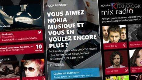 Nokia : le service Musique+ disponible en France | Radio 2.0 (En & Fr) | Scoop.it