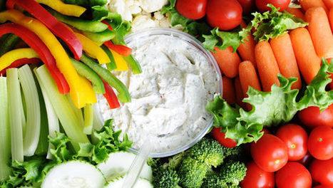 Artichoke Dip with Raw Veggies - The Blood Sugar Solution | Sugar Industry | Scoop.it