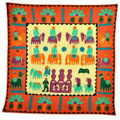 Jaipuri Applique Handcrafted Wall Hanging   Buy Metal Home Decor Items Online   Metal Handicraft Items - Getbuygo.com   Online Shopping Store   Online Book Shopping   Scoop.it