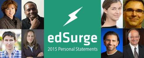 EdSurge 2015 Personal Statements (EdSurge Guides) | Smart Media | Scoop.it