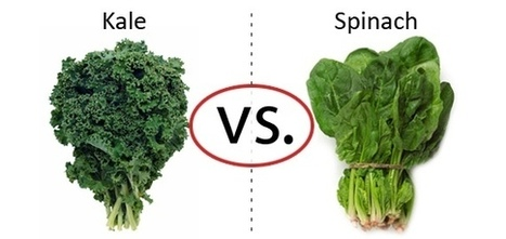 Nutrition Faceoff: Kale vs. Spinach | fitness, health,news&music | Scoop.it