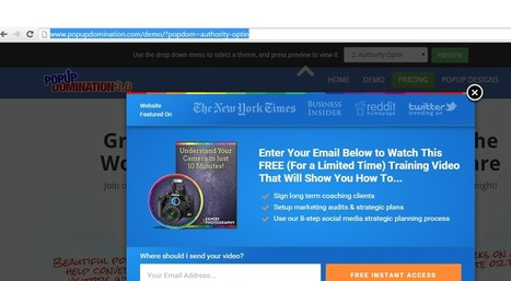 Popup Domination 3.0 Review:The UltimateWordpress Pluginfor Email Subscription 2016 | Google | Scoop.it