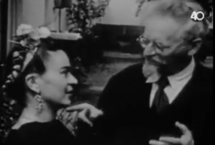 Frida Kahlo and Diego Rivera Visit Leon Trotsky in Mexico, 1938 | General learning related websites | Scoop.it