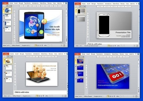 Free Technology Templates for PowerPoint   Free Microsoft Word Templates   Scoop.it