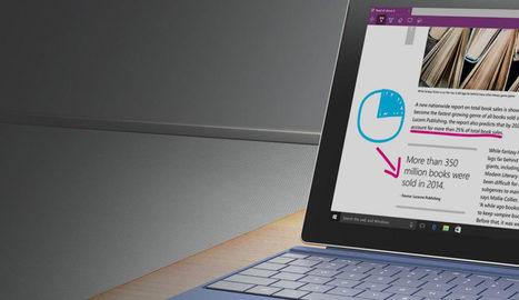 Microsoft Edge : tout ce que vous pouvez faire avec sous Windows 10 | L'e-Space Multimédia | Scoop.it