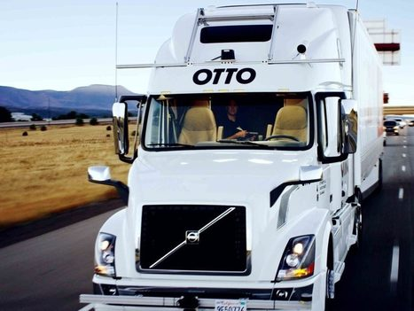 Uber's Self-Driving Truck Makes Its First Delivery: 50,000 Budweisers | Embodied Zeitgeist | Scoop.it