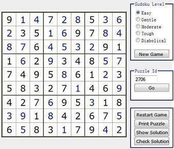 Jouer et imprimer des grilles de Sudoku | 694028 | Scoop.it