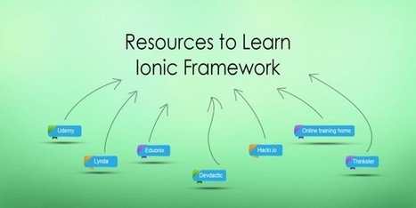 7 Best Resources to Learn Ionic Framework — Medium | Nova Tech Consulting S.r.l. | Scoop.it