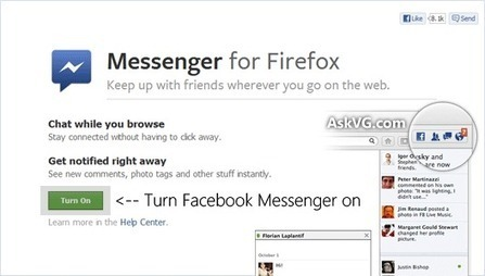 How to Enable Built-in Facebook Messenger in Mozilla Firefox? - Tweaking with Vishal | WEBOLUTION! | Scoop.it
