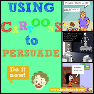 Using Cartoons to Persuade | Writing Activities for Kids | Scoop.it