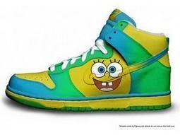 Nike SB Spongebob Dunk Cartoon Sneakers Nike SB Spongebob / spongebob sneakers | Spongebob Nike Dunks | Scoop.it
