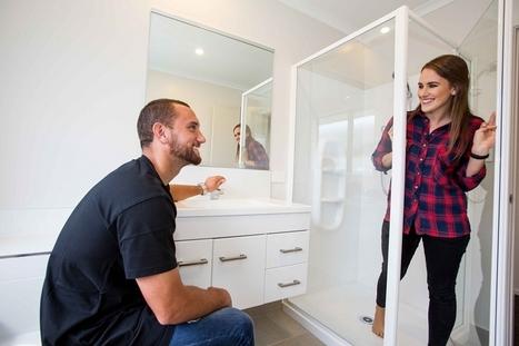 Aaron Cruden's Generation Home: Bathroom   Home builders in New Zealand   Generation Homes   Scoop.it