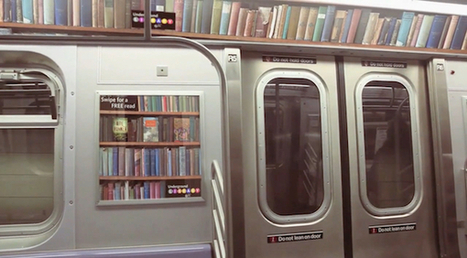 A Library for the Subway | Design on GOOD | School library design, teaching and learning areas, shelving | Scoop.it