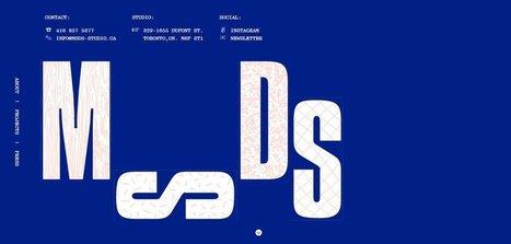 M-S-D-S Studio   Web Design Inspiration   Web design inspiration   Scoop.it