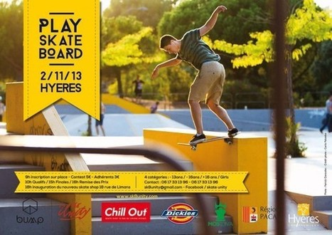 Play skateboard contest@Hyères le 2 novembre 2013 Contests ... | actualité Sport | Scoop.it
