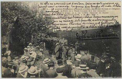 30 août 1914 les premiers prisonniers allemands arrivent à Toulouse   Toulouse La Ville Rose   Scoop.it