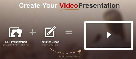 Ofslides — Convert PPT to Video Presentation | Digital Presentations in Education | Scoop.it