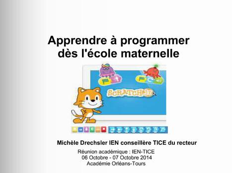 Apprendre à programmer dès la maternelle : ScratchJR | Time to Learn | Scoop.it