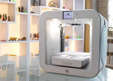 Cube 3 3D Printer Offers 75 Micron 3D Printing For Under $1000 | 3D Printing | Scoop.it