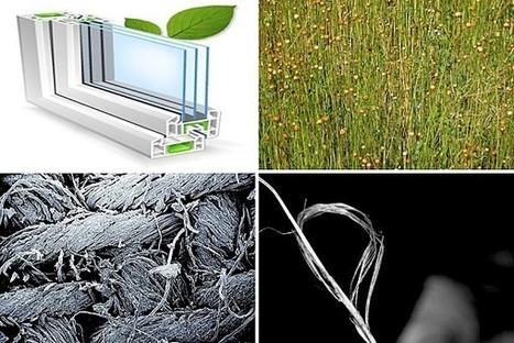 La fibre de lin, matériau du futur en faveur de l'éco-construction ...   Mise en valeur de l'offre sur les panneaux solaires   Scoop.it