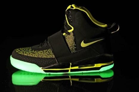 Nike Air Yeezy Glow In The Dark Black Green Shoes Hot Sale Online | Cheap Glow In The Dark Air Yeezy | Scoop.it