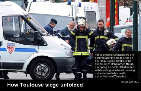 French killings suspect dies shooting at police, authorities | Highlights News Of The World | Scoop.it