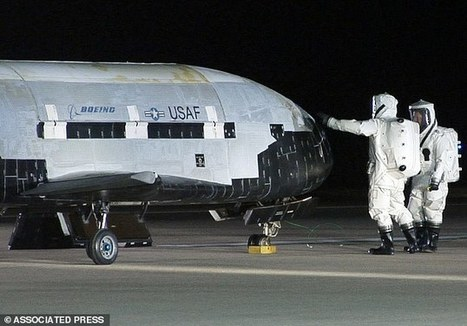 Secret X-37B space plane spotted in orbit by amateur astronomers | Science, Space, and news from 'out there' | Scoop.it
