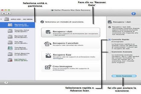Mac Data Recovery 7 di Stellar Phoenix: online la nuova versione del noto programma di recupero dati - SlideToMac Blog | recupero dati | Scoop.it