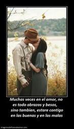 Muchas veces en el amor, no es todo abrazos y besos | Imagenes de Frases de Amor | Imagenes Con Mensajes de Amor | Scoop.it
