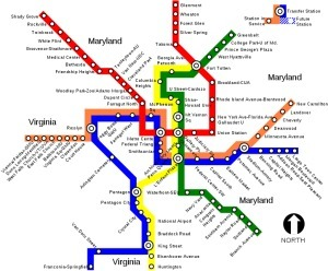 Updates to the Metro mean changes to an iconic map | Geographic Information Technology | Scoop.it