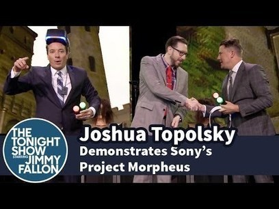 Joshua Topolsky Demonstrates Sony's Project Morpheus | First Topic | Scoop.it