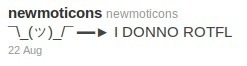 Newmoticons - Twitter | ASCII Art | Scoop.it