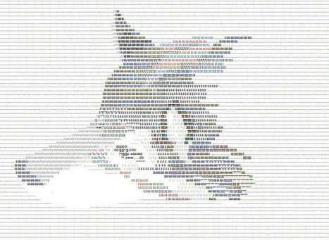 ASCII wolf by SpiritOfDevils | ASCII Art | Scoop.it